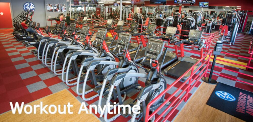 Workout Anytime hours locations prices